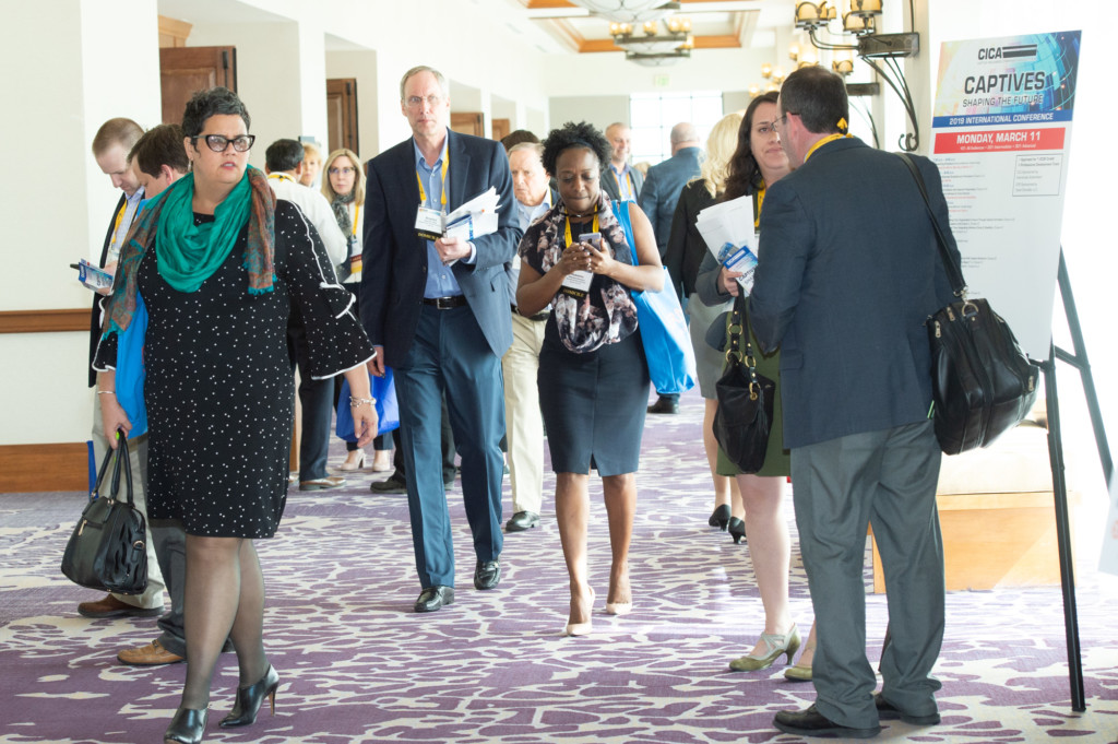 CICA 2019 Conference Attendees Walking