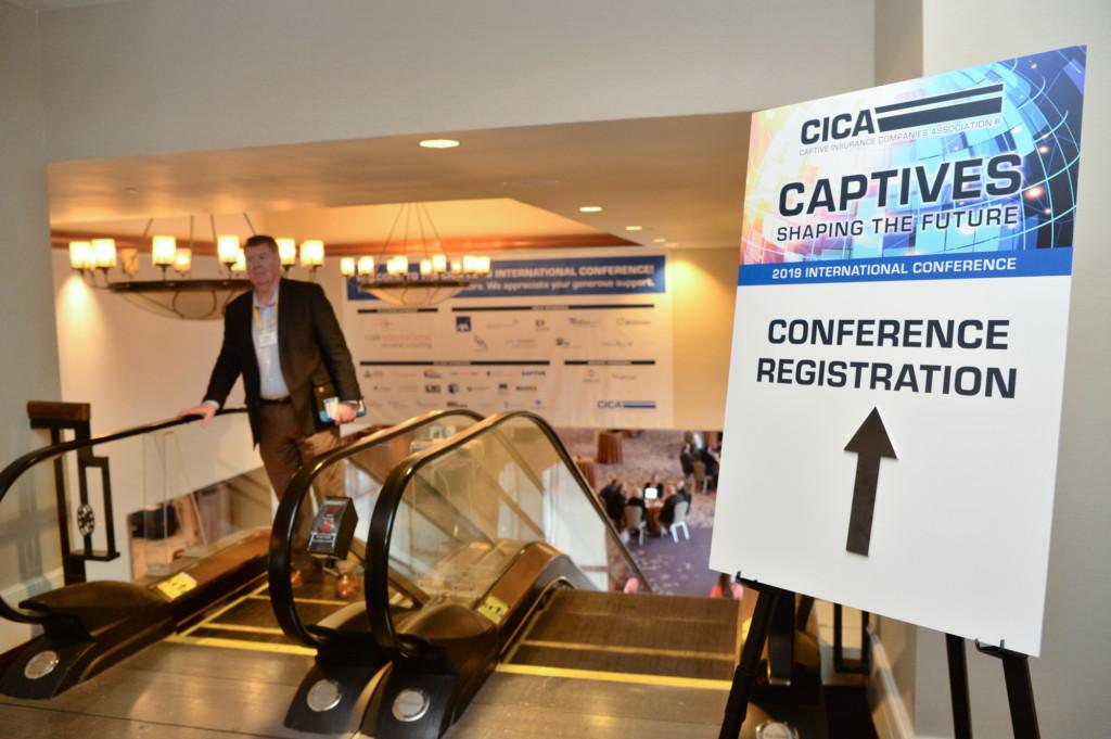 CICA 2019 Conference Registration Sign