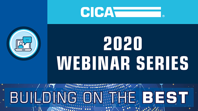 CICA 2020 Building on the Best Webinar Series
