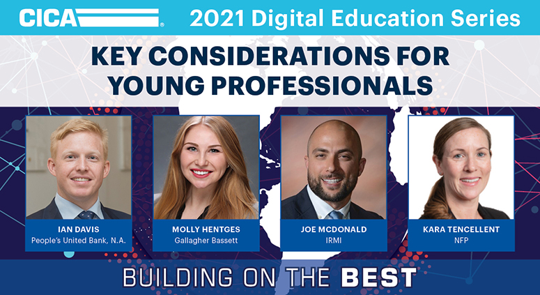 CICA 2021 Digital Education Series - Key Considerations for Young Professionals