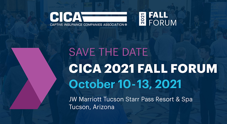 CICA 2021 Fall Forum Save the Date - Oct. 10-13, 2021