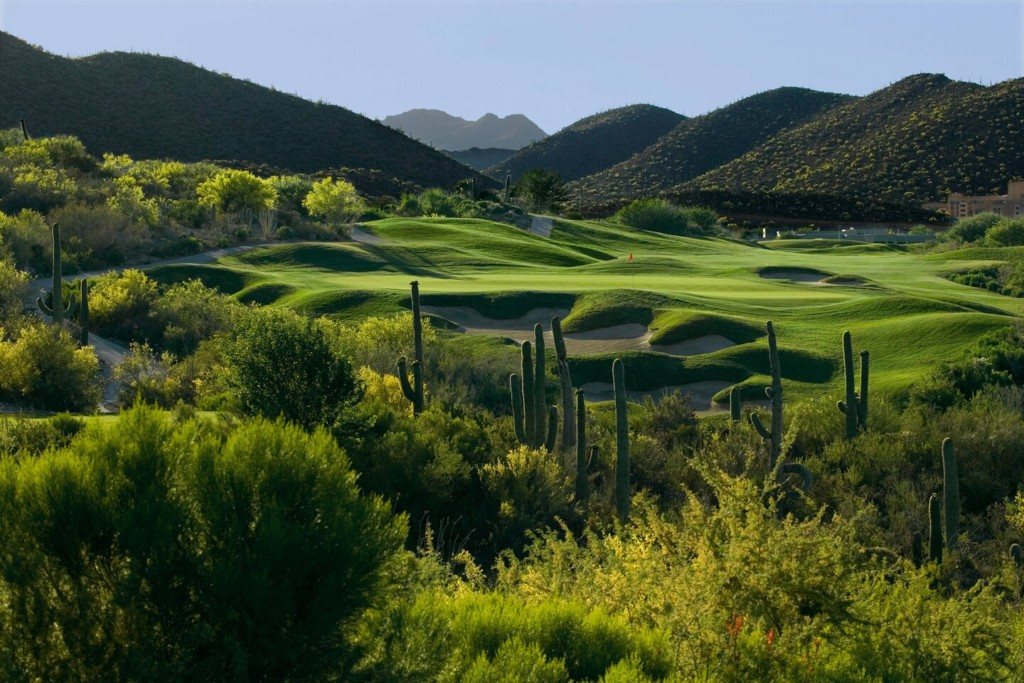 JW Marriott Tucson Starr Pass Resort & Spa Golf Course View